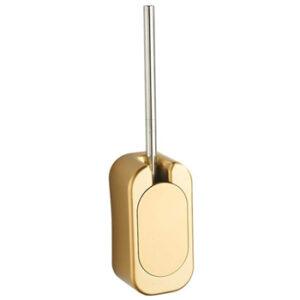 Escobilla inodoro dorada alta calidad