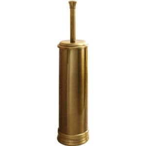 Gedy Escobillero dorado de suelo para vater aseo